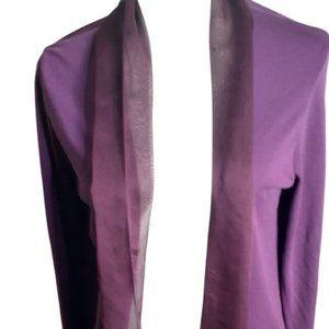 3/$20 Women's Purple La Mode Open Front Cardigan
